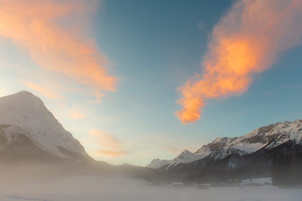 Schneewanderung Seefeld - traumhafte Stimmungen von der Natur einfangen! Foto: Johannes Geyer