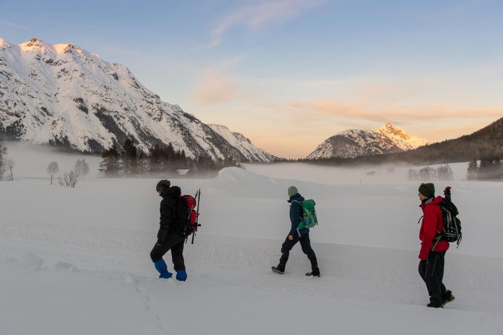 Winter Weitwandern Seefeld - Foto Johannes Geyer